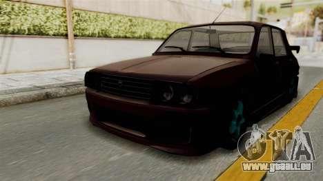 Dacia 1310 TX Tuning pour GTA San Andreas sur la vue arrière gauche