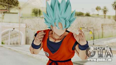 Dragon Ball Xenoverse Goku SSGGSS pour GTA San Andreas