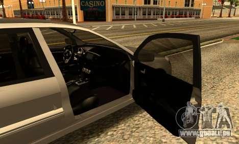 Mitsubishi Lancer 2005 für GTA San Andreas zurück linke Ansicht