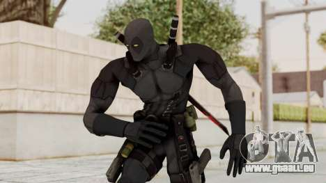 Black Deadpool für GTA San Andreas