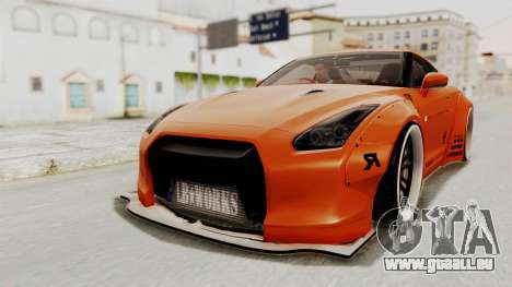Nissan GT-R R35 Liberty Walk LB Performance pour GTA San Andreas
