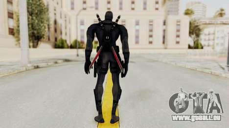 Black Deadpool für GTA San Andreas dritten Screenshot