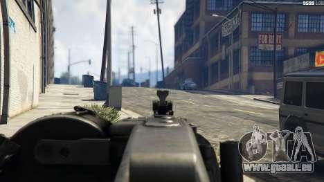GTA 5 MG-42 cinquième capture d'écran