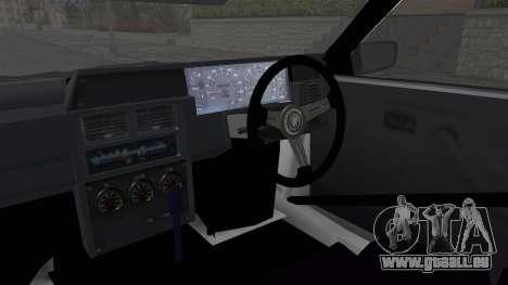 Nissan Skyline R31 für GTA San Andreas Innenansicht