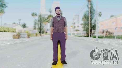 Skin de GTA 5 Online pour GTA San Andreas deuxième écran
