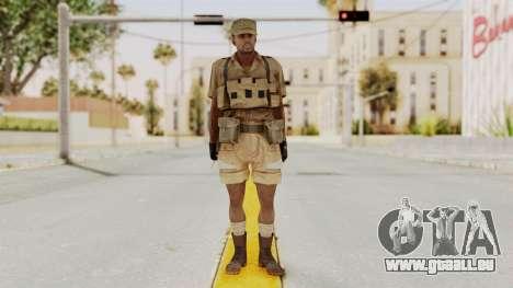 MGSV Phantom Pain CFA Combat Vest 1 v1 für GTA San Andreas zweiten Screenshot