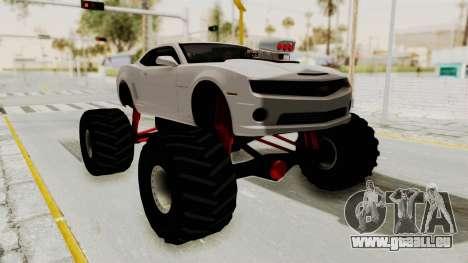 Chevrolet Camaro SS 2010 Monster Truck für GTA San Andreas