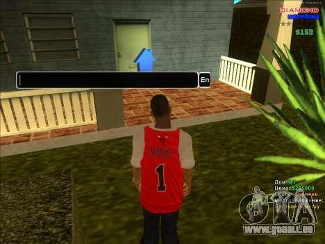 Chequer maisons pour ARP pour GTA San Andreas quatrième écran