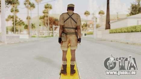 MGSV Phantom Pain CFA Combat Vest 1 v1 pour GTA San Andreas troisième écran