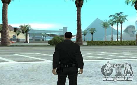 Los Santos Police Officer pour GTA San Andreas deuxième écran