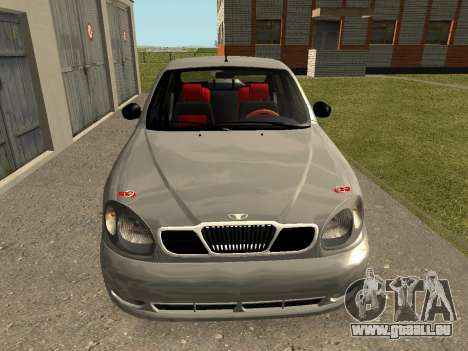 Daewoo Lanos (Sens) 2004 v1.0 by Greedy pour GTA San Andreas vue de droite