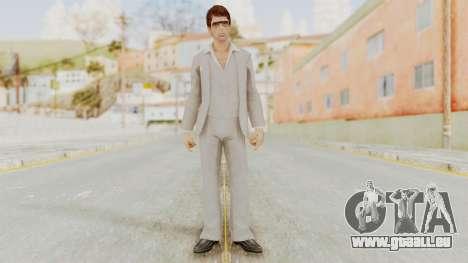 Scarface Tony Montana Suit v1 with Glasses pour GTA San Andreas deuxième écran