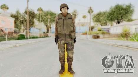 MGSV Phantom Pain RC Soldier Vest v1 pour GTA San Andreas deuxième écran