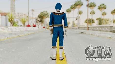 Power Ranger Zeo - Blue pour GTA San Andreas troisième écran