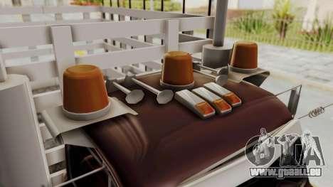 Ford 49 Con Estacas pour GTA San Andreas vue arrière