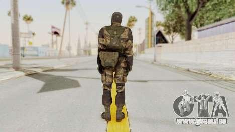MGSV TPP Diamond Dog Combat Male pour GTA San Andreas troisième écran