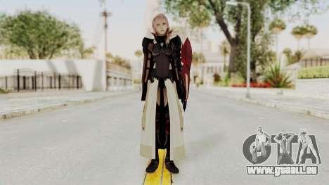 LRFFXIII Lightning Equilibrium Garb v1 pour GTA San Andreas deuxième écran