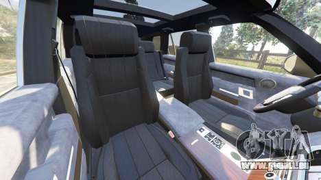 GTA 5 Range Rover (L405) Vogue 2013 droite vue latérale