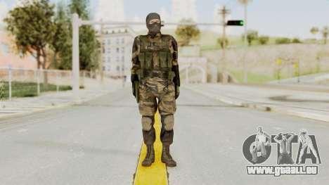 MGSV TPP Diamond Dog Combat Male pour GTA San Andreas deuxième écran