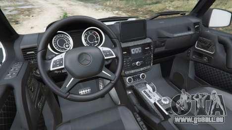 GTA 5 Mercedes-Benz G65 AMG 6x6 hinten rechts