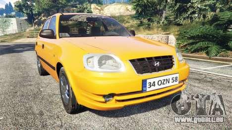 Hyundai Accent Admire pour GTA 5