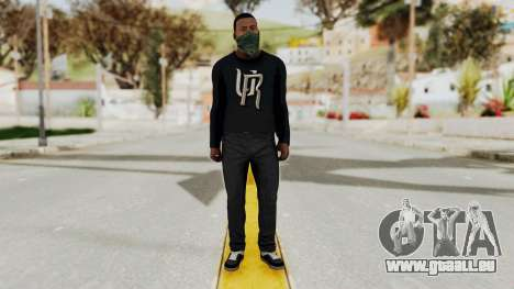 GTA 5 Franklin v1 pour GTA San Andreas deuxième écran