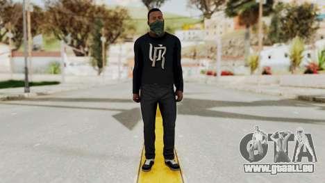 GTA 5 Franklin v1 für GTA San Andreas zweiten Screenshot