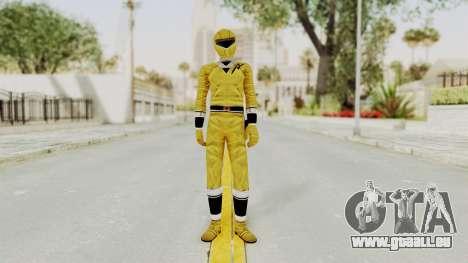 Alien Rangers - Yellow für GTA San Andreas zweiten Screenshot