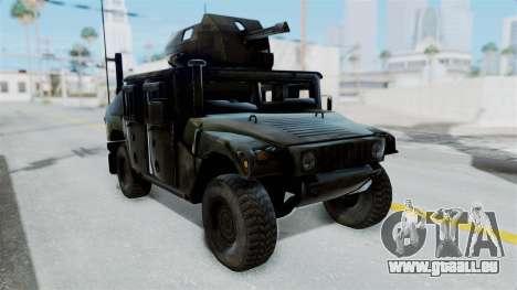 Humvee M1114 Woodland für GTA San Andreas