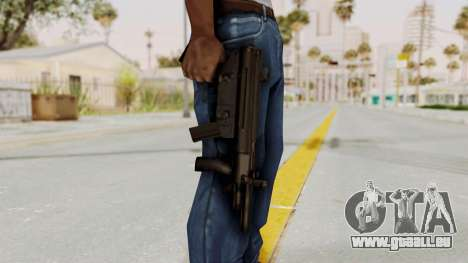 Liberty City Stories SMG für GTA San Andreas dritten Screenshot