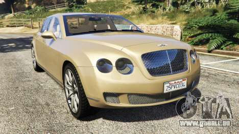 Bentley Continental Flying Spur 2010 für GTA 5