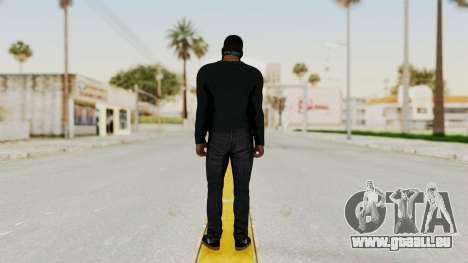 GTA 5 Franklin v1 pour GTA San Andreas troisième écran