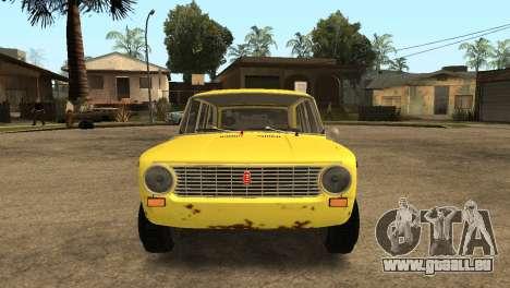VAZ 2102 BK für GTA San Andreas rechten Ansicht