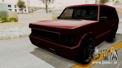 Huntley für GTA San Andreas rechten Ansicht