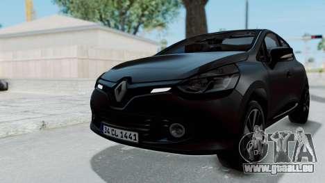 Renault Clio 4 IVF pour GTA San Andreas