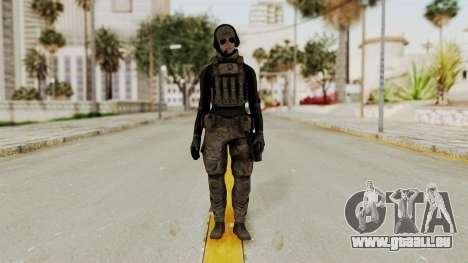 Phantomers Linda Sashantti Soldier pour GTA San Andreas deuxième écran