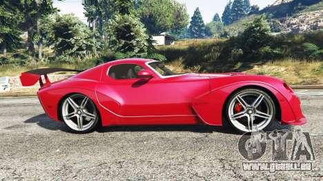GTA 5 Devon GTX 2010 v0.1 vue latérale gauche