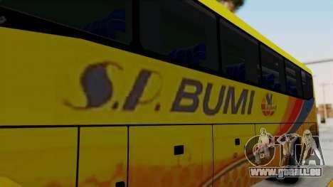 Marcopolo SP Bumi Express pour GTA San Andreas vue arrière