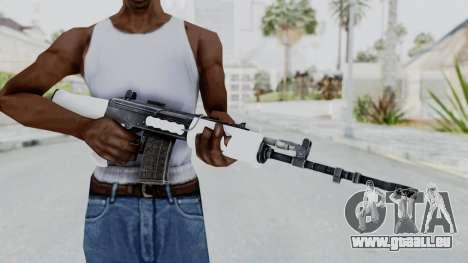 IOFB INSAS White für GTA San Andreas dritten Screenshot