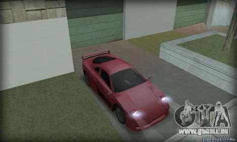 Ferrari F40 pour GTA San Andreas vue de droite