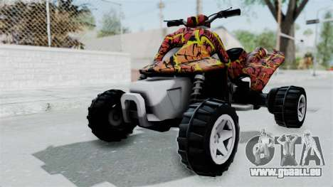 Sand Stinger from Hot Wheels Worlds Best Driver pour GTA San Andreas