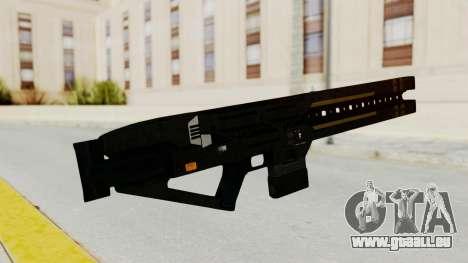 Railgun pour GTA San Andreas deuxième écran