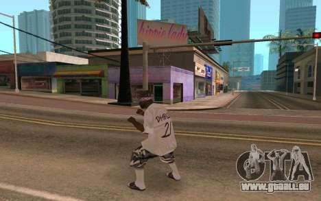 Ballas Gang Member pour GTA San Andreas troisième écran