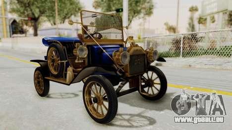 Ford T 1912 Open Roadster v2 für GTA San Andreas