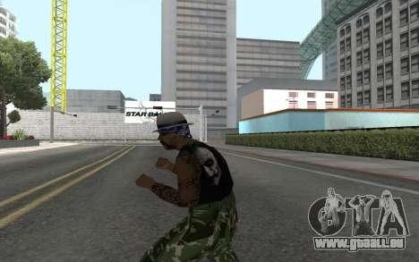 San Fierro Rifa Member pour GTA San Andreas troisième écran
