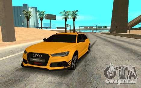 Audi RS6 Avant 2015 ABT für GTA San Andreas