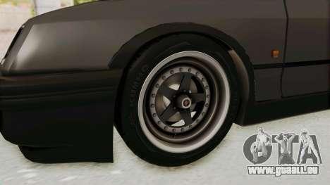 Ford Sierra Mk1 Drag Version für GTA San Andreas Rückansicht