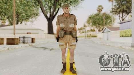 MGSV Phantom Pain CFA Soldier v2 pour GTA San Andreas deuxième écran