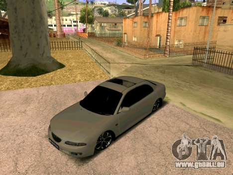Mazda Xedos 6 pour GTA San Andreas sur la vue arrière gauche