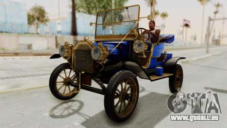 Ford T 1912 Open Roadster v2 für GTA San Andreas rechten Ansicht